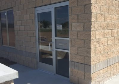 Custom commercial glass doors - Traverse City, MI