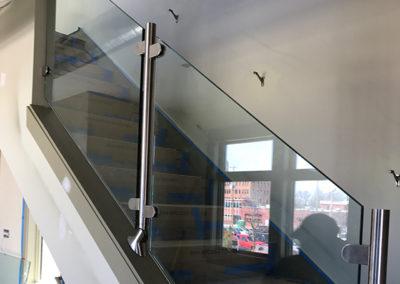 Glass Handrail Stainless Steel Custom