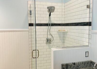 Neo Angled Shower